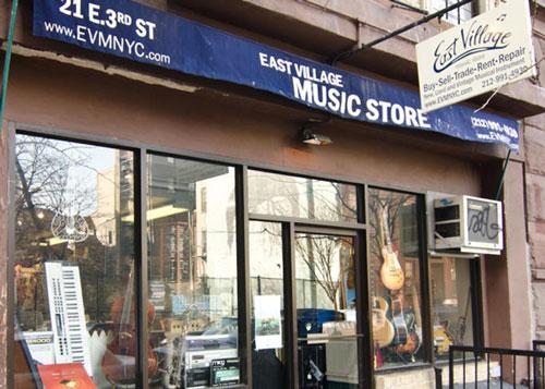 East Village Music!