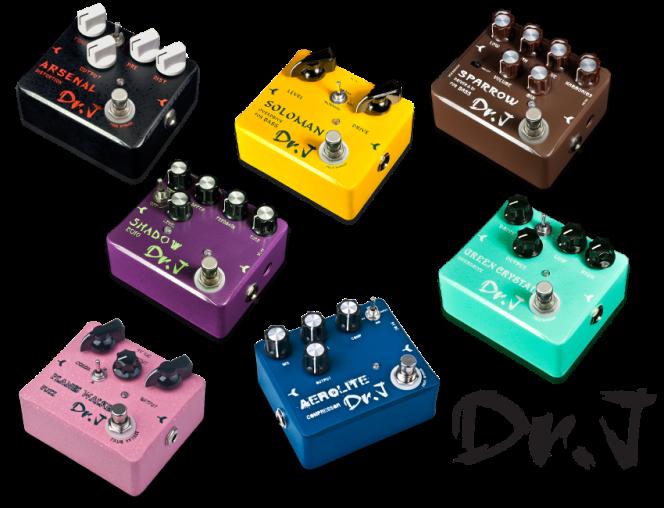 Dr J effect pedals