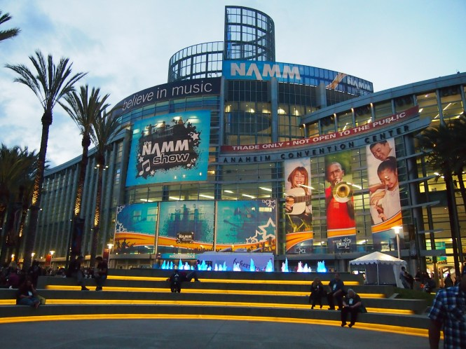 NAMM 2015 Anaheim CA