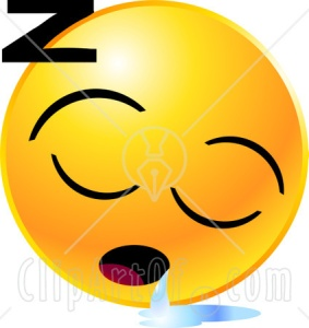 22152_yellow_emoticon_face_sleeping_and_drooling_with_a_puddle_of_liquid